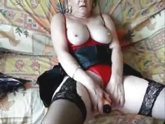 My cute wife masturbating for you. Home made