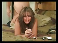 Step mom fuck and smoking