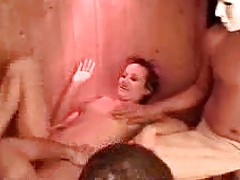 orgy in german sauna