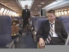 American Stewardess Handjob - Part 3
