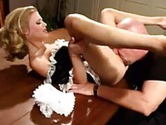 petite Madison Sins as Maid