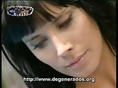 Pilar rubio desnudandose