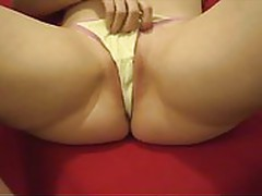 me masturbating in my panties