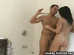 Cheating Brunette Doggystyle
