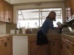 Mommy Fucked In Her Kitchen
