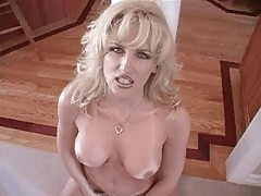 Racquel takes a mouthful of cum and swallows