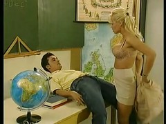 sexy teacher Kelly Trump with