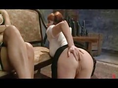 Redhead MILF with Gaping Ass Hole Anal Fisting<br>
