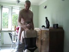 Filthy Old Grandpa Seduced Tiny Teen<br>