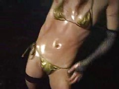 Best oiled up asian dancer<br>