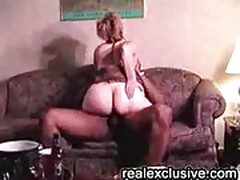 Interracial orgy with mature white housewives and black boys