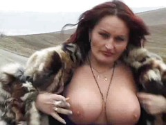 Mature Big Titted Streetwalker