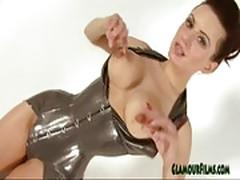 Darenzia sexy soviet latex