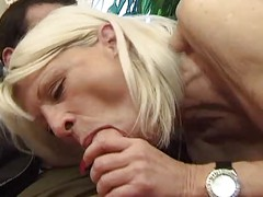 Hot Mature Blonde Cougar Eva