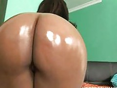 black chick Candy fucking her