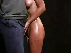 Very sexy teasing handjob<br>