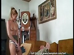 Old man fucking busty girl
