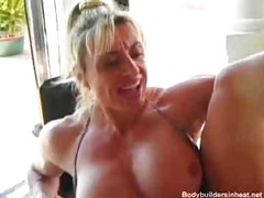 Mature amateur muscle babes