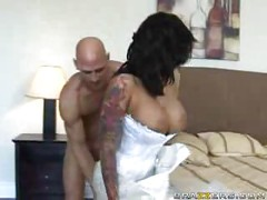 Hot MILF Bride Fucks Hard !<br>