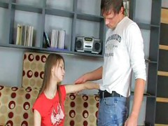 Stepdad fucks daughter<br>