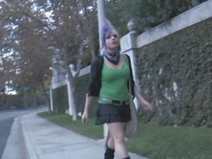 Punk Tranny Veronica Jerks
