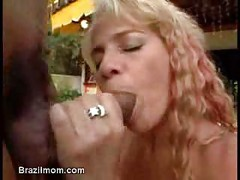 Brazilian mom cock ride<br>