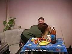 Russian mother gets fucked -