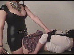 Goth Teen Lesbians With Strap