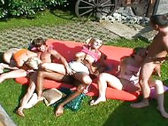 3 czech horny girls in a