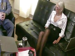 Strickt German Amateur Blonde