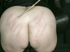 Horny nun slave is bend over