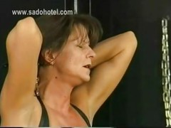 Beautiful milf slave is