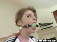 Tied Up Teen Facial<br>