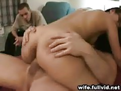 Housewife Rides Another Man