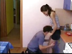 Brother seduces sister while