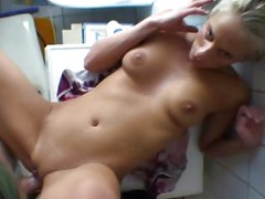 Busty Blonde Fucked In