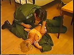 Anita Blond in the army.