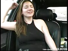 French emilie fucked in a forest