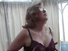 Granny Fishnet Stockings xLx