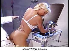 Hot BABE at the Doctor Office!<br>