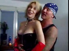 Blonde Mature Mother Erica Lauren Dicked By Two Younger ( mom milf granny anal dp double penetration couch cumshot oldandyoung olderwoman youngerman )<br>