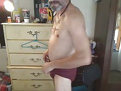 just got web cam playing in my underwear