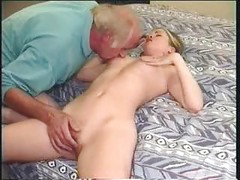 Perverted Old Guy Fucks Young Teen<br>
