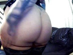 Amazing Gothic Fat Pussy-Cam Show