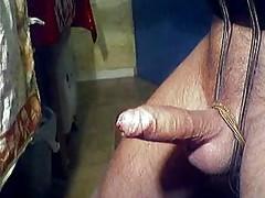 Bondage Cumshot