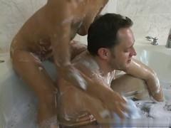 Mia - Soapy Massage Handjob