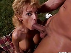 Busty MILF Gets Drilled