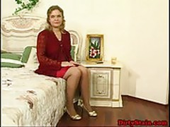 Horny russian mature