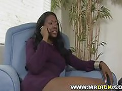 Hot Black Milf Fucking and Sucking Part 1