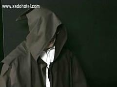 Scared german nun is spanked